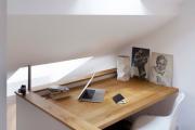 Фото 21 Маленький компьютерный стол (65 фото): лучшие компактные решения при небольшом бюджете
