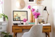 Фото 24 Маленький компьютерный стол (65 фото): лучшие компактные решения при небольшом бюджете