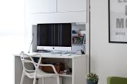 Фото 27 Маленький компьютерный стол (65 фото): лучшие компактные решения при небольшом бюджете