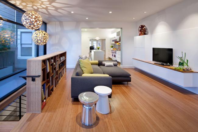 Модульная мебель отлично подойдет для современного интерьера