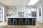 Фото 2 Дизайн кухни с нишей в стене: обзор стильных фотоидей и варианты перепланировки