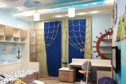 Фото 29 Как выбрать шторы в детскую комнату мальчика? Яркие идеи и советы дизайнеров