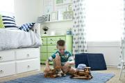 Фото 10 Как выбрать шторы в детскую комнату мальчика? Яркие идеи и советы дизайнеров