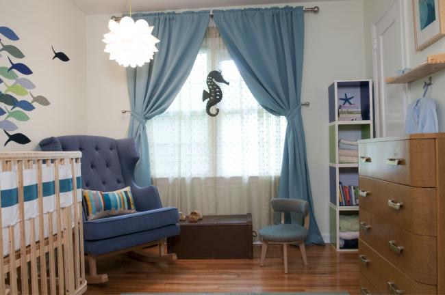 Нежное дополнение к дизайну комнаты вашего малыша