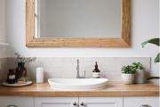 Фото 3 Чистый минимализм: 60+ лаконичных идей для ванной в скандинавском стиле