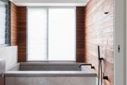 Фото 6 Чистый минимализм: 60+ лаконичных идей для ванной в скандинавском стиле