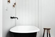 Фото 1 Чистый минимализм: 60+ лаконичных идей для ванной в скандинавском стиле