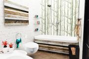 Фото 30 Чистый минимализм: 60+ лаконичных идей для ванной в скандинавском стиле