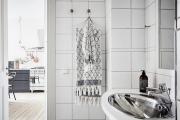 Фото 9 Чистый минимализм: 60+ лаконичных идей для ванной в скандинавском стиле