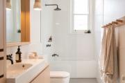 Фото 23 Чистый минимализм: 60+ лаконичных идей для ванной в скандинавском стиле