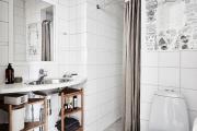 Фото 11 Чистый минимализм: 60+ лаконичных идей для ванной в скандинавском стиле