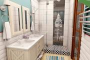 Фото 24 Ванная в скандинавском стиле: 80+ потрясающих идей дизайна, в которые невозможно не влюбиться!