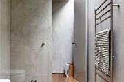 Фото 25 Чистый минимализм: 60+ лаконичных идей для ванной в скандинавском стиле