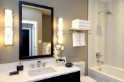 Фото 7 Стеклообои в ванной: дизайнерские особенности, преимущества и уход за ними