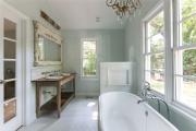 Фото 8 Стеклообои в ванной: дизайнерские особенности, преимущества и уход за ними