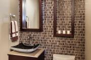 Фото 9 Стеклообои в ванной: дизайнерские особенности, преимущества и уход за ними