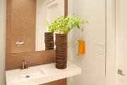 Фото 10 Стеклообои в ванной: дизайнерские особенности, преимущества и уход за ними