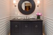 Фото 14 Стеклообои в ванной: дизайнерские особенности, преимущества и уход за ними