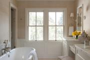 Фото 17 Стеклообои в ванной: дизайнерские особенности, преимущества и уход за ними