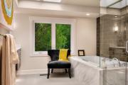 Фото 19 Стеклообои в ванной: дизайнерские особенности, преимущества и уход за ними