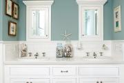 Фото 24 Стеклообои в ванной: дизайнерские особенности, преимущества и уход за ними