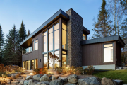Фото 5 Стеклянные дома (60+ фото проектов): стильные варианты остекленных фасадов, веранд и террас