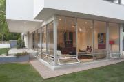 Фото 6 Стеклянные дома (60+ фото проектов): стильные варианты остекленных фасадов, веранд и террас