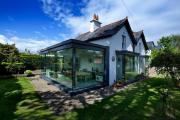 Фото 14 Стеклянные дома (60+ фото проектов): стильные варианты остекленных фасадов, веранд и террас