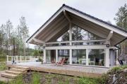 Фото 20 Стеклянные дома (60+ фото проектов): стильные варианты остекленных фасадов, веранд и террас
