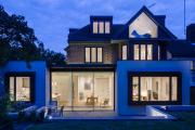 Фото 24 Стеклянные дома (60+ фото проектов): стильные варианты остекленных фасадов, веранд и террас