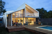 Фото 25 Стеклянные дома (60+ фото проектов): стильные варианты остекленных фасадов, веранд и террас
