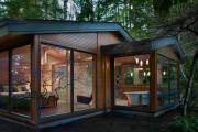 Фото 28 Стеклянные дома (60+ фото проектов): стильные варианты остекленных фасадов, веранд и террас