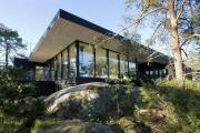Фото 29 Стеклянные дома (60+ фото проектов): стильные варианты остекленных фасадов, веранд и террас