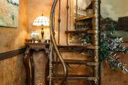 Фото 3 Стиль стимпанк в интерьере: эстетика паровых машин и блеск викторианской Англии