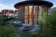 Фото 15 Оригинальные проекты, планировка и возведение круглых частных домов