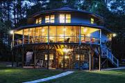 Фото 20 Оригинальные проекты, планировка и возведение круглых частных домов