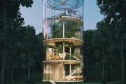 Фото 4 Оригинальные проекты, планировка и возведение круглых частных домов
