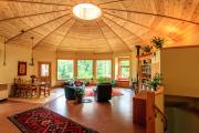 Фото 11 Оригинальные проекты, планировка и возведение круглых частных домов