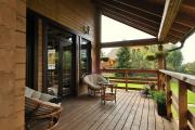 Фото 9 Тамбур в частном доме: варианты декора и обзор отделочных материалов