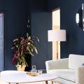Роскошь индиго — темно-синие обои (70+ фото): психология цвета в интерьере и советы дизайнеров фото