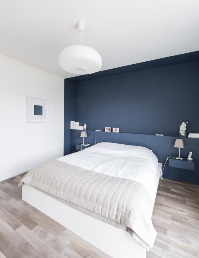 Белый цвет прекрасно подойдет для дизайна спальни