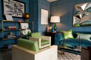 Фото 13 Роскошь индиго — темно-синие обои (70+ фото): психология цвета в интерьере и советы дизайнеров