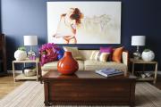 Фото 6 Роскошь индиго — темно-синие обои (70+ фото): психология цвета в интерьере и советы дизайнеров