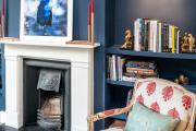Фото 31 Роскошь индиго — темно-синие обои (70+ фото): психология цвета в интерьере и советы дизайнеров