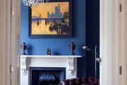 Фото 33 Роскошь индиго — темно-синие обои (70+ фото): психология цвета в интерьере и советы дизайнеров