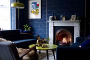 Фото 34 Роскошь индиго — темно-синие обои (70+ фото): психология цвета в интерьере и советы дизайнеров