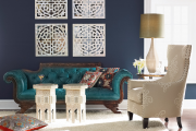 Фото 36 Роскошь индиго — темно-синие обои (70+ фото): психология цвета в интерьере и советы дизайнеров