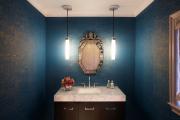 Фото 38 Роскошь индиго — темно-синие обои (70+ фото): психология цвета в интерьере и советы дизайнеров
