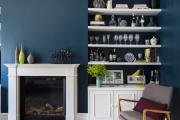 Фото 39 Роскошь индиго — темно-синие обои (70+ фото): психология цвета в интерьере и советы дизайнеров