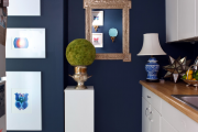 Фото 40 Роскошь индиго — темно-синие обои (70+ фото): психология цвета в интерьере и советы дизайнеров